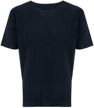 Issey Miyake Homme Plissé pleated short-sleeve T-shirt