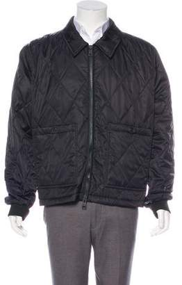 Ami Alexandre Mattiussi Quilted Woven Jacket w/ Tags