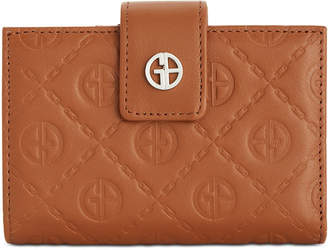 Giani Bernini Logo Embossed Index Wallet
