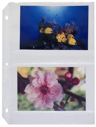 C-Line Ring Binder Photo Storage Pages for 4 x 6 Inch Photos
