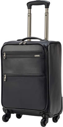 Pathfinder ダブルジップ 4輪 スーツケース ブラック