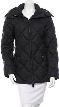 Burberry Quilted Down Coat $295 thestylecure.com