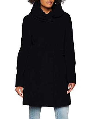 Comma Women's 8T.809.52.7546 Coat, Light Grey Melange 9700