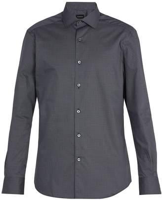 Ermenegildo Zegna Printed cotton shirt