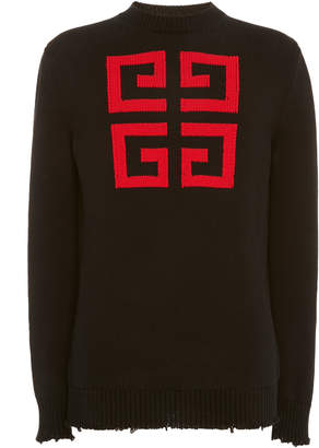Givenchy Wool Logo Sweater
