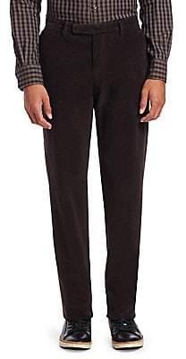 Ermenegildo Zegna Men's Cotton Corduroy Trousers