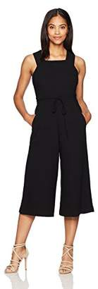 Maggy London Women's Wide-Leg Crop Jumpsuit