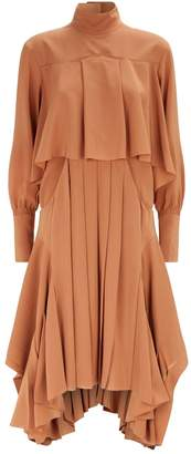 Chloé Cut-Out Waist Dress