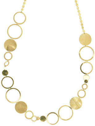 Lana Multi-Disc Short Station Necklace