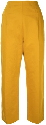 Marni cropped high waisted trousers