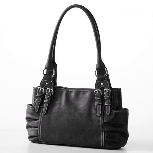 Croft & barrow® buckle satchel
