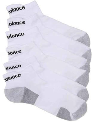 New Balance Performance Training No Show Socks - 6 Pack - Men's