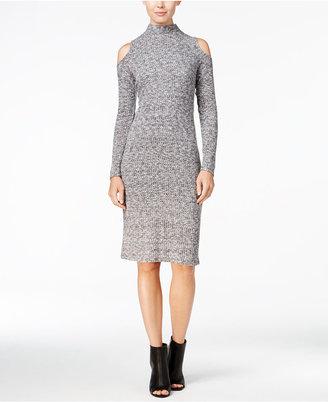 kensie Cold-Shoulder Bodycon Dress $79 thestylecure.com