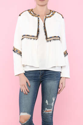 Hazel Cleopatra Long Sleeve Jacket