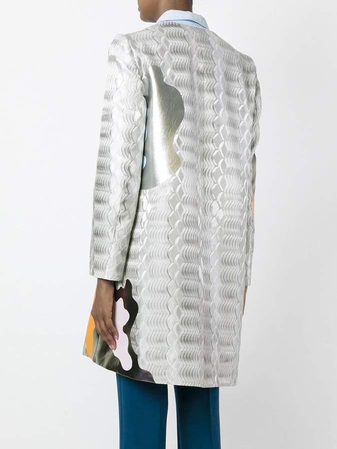 Mary Katrantzou Framis a-line coat