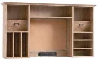 Pottery Barn Teen Hampton Smart Desk Hutch, Smoked Gray