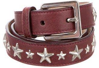 Jimmy ChooJimmy Choo Studded Leather Belt