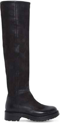 Strategia 30MM BOSTON LEATHER TALL BOOTS