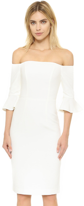 Black Halo Madigan Sheath Dress $345 thestylecure.com