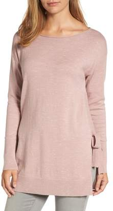 Caslon Side Tie Tunic Top