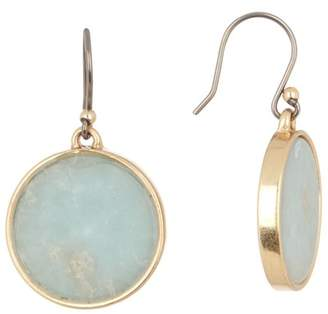 Lucky Brand Jasper Circle Dangle Earrings