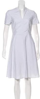 Tory Burch Striped A-Line Dress