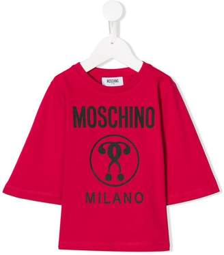 Moschino Kids logo T-shirt