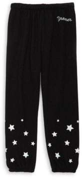 Spiritual Gangster Toddler's, Little Girl's& Girl's Dreamer Script Fave Sweatpants
