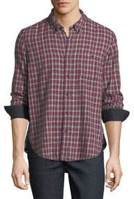 Flannel Cotton Sport Shirt