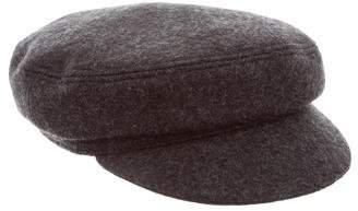 Isabel Marant Wool Newsboy Hat
