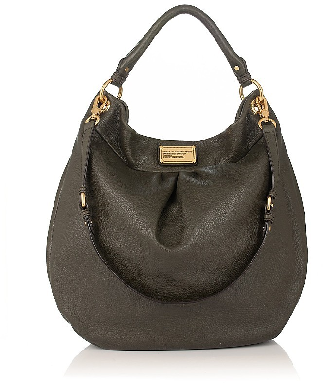 MARC BY MARC JACOBS Classic Q Huge Hillier Leather Hobo