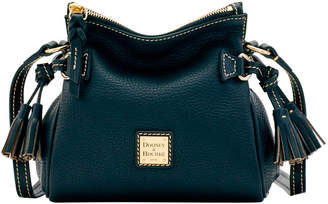 Dooney & Bourke Pebble Grain Mini Zip Crossbody