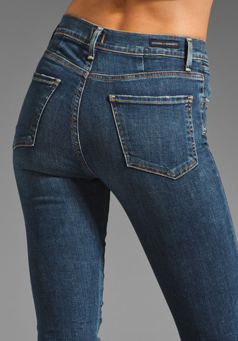 Citizens of Humanity Jeans Arley High Waist Straight Leg