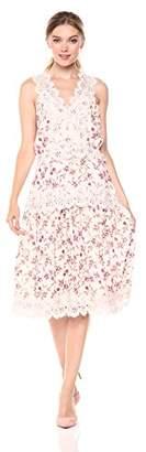 Adelyn Rae Women's Payton Woven MIDI Dress