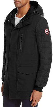 Canada Goose Selwyn Hooded Down Coat $550 thestylecure.com