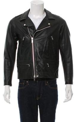 Undercover Leather Biker Jacket w/ Tags
