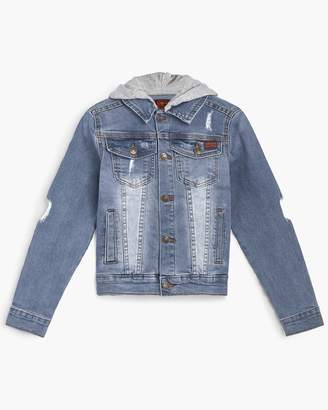 7 For All Mankind Boy's S-XL Denim Jacket in Tribecca