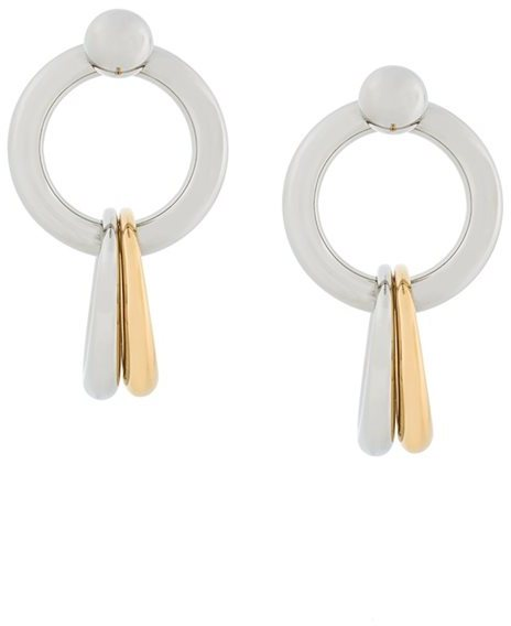 Alexander Wang Alexander Wang hoop linked earrings