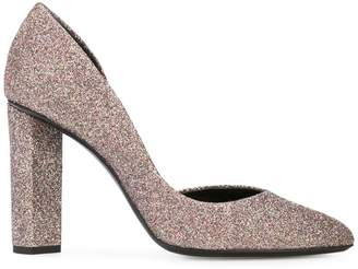 Pierre Hardy glitter block heel pumps