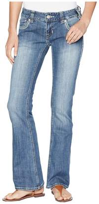 Rock and Roll Cowgirl Low Rise in Medium Vintage W0-6652 Women's Jeans
