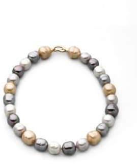 Majorica 14MM Multicolor Baroque Pearl Necklace