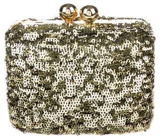 Dolce & Gabbana Sequin Minaudiére Clutch