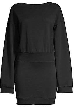 Faith Connexion Women's Banded Waist Sweater Dress