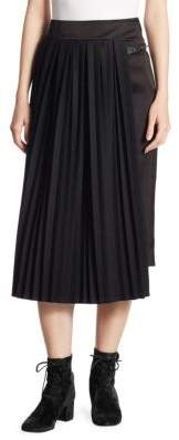 Loewe Pleated Panel A-Line Skirt