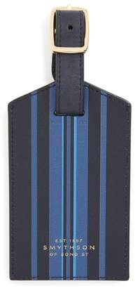 Smythson Hero Leather Luggage Tag
