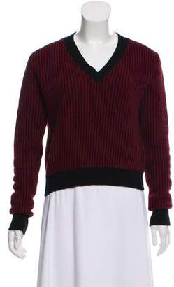 Alexander Lewis Striped Knit Sweater