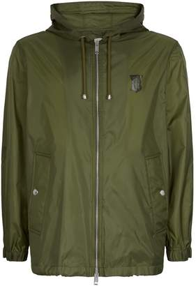 Burberry Monogram Motif Lightweight Hooded Jacket
