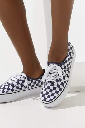 Vans Authentic Platform Checkerboard Sneaker