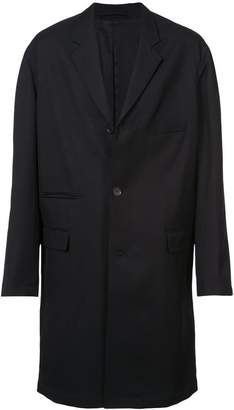 Lemaire Notch collar mid-length overcoat