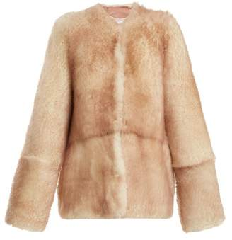 Raey 1970s tipped-shearling coat